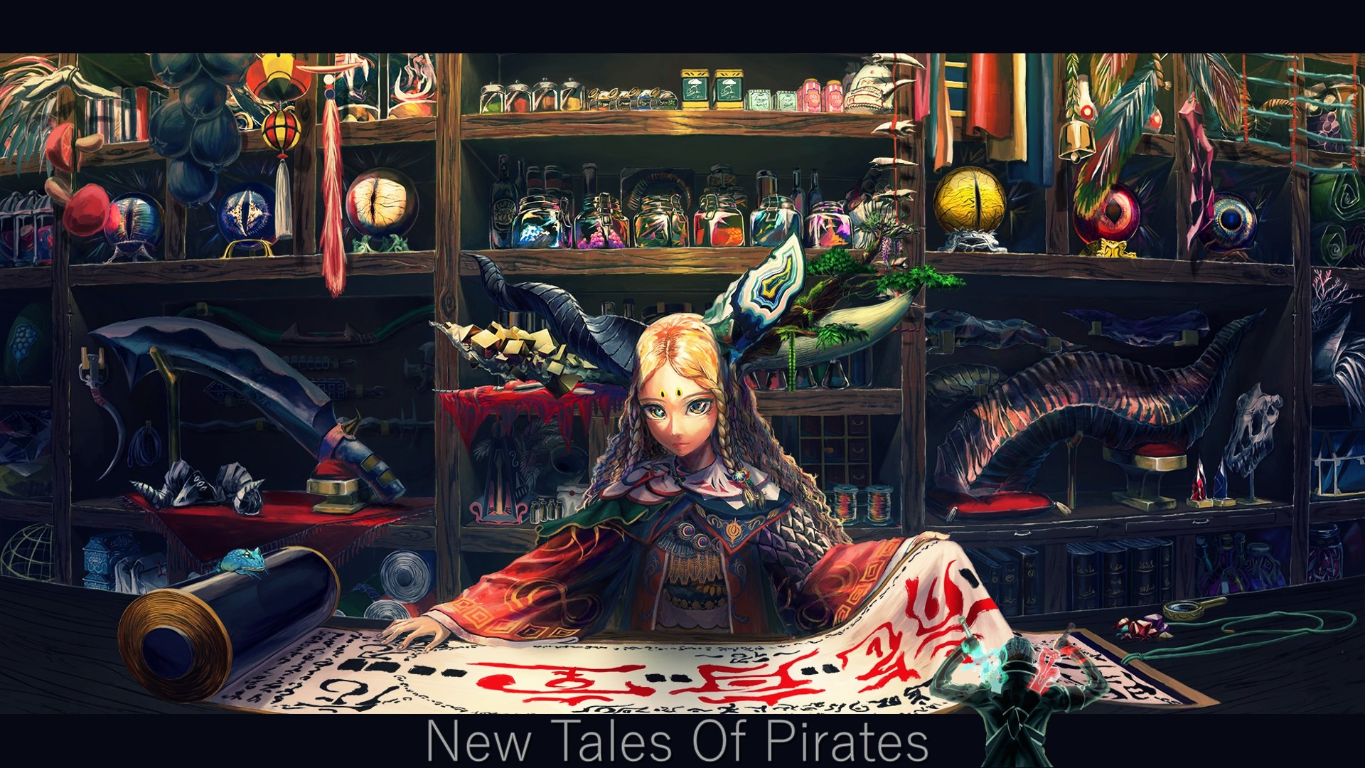 Setstall new tales of pirates